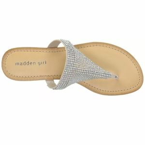 Madden Girl Womens Sabeer Open Toe Casual T-Strap